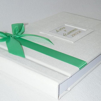 Albumai palinkėjimų knygų gamyba / Rasoti Žiedai / Darbų pavyzdys ID 396961