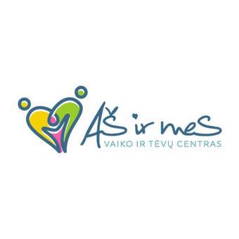 Aš ir mes - vaiko ir tėvų centras      Logotipų kūrimas - www.glogo.eu - logo creation.
