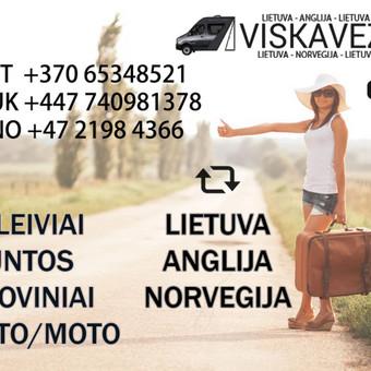 Lietuva - Europa - Anglija / Viskaveza / Darbų pavyzdys ID 398161
