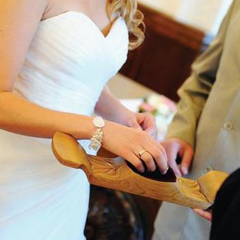 Vestuviniai išskirtiniai rankų darbo papuošalai & aksesuarai / 3dygsniai / Darbų pavyzdys ID 398831