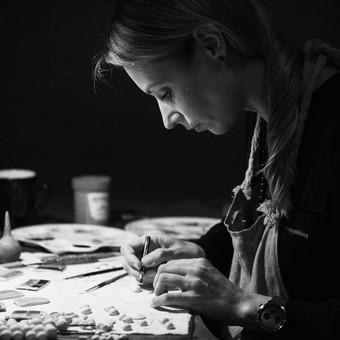 """""""Maži dalykai"""" - keramikos papuošalai ir keramikos kursai / Jūratė Čėsnaitė / Darbų pavyzdys ID 401497"""