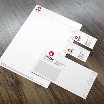 Įmonės firminis stilius / Dizaino pasaulis / Darbų pavyzdys ID 401653