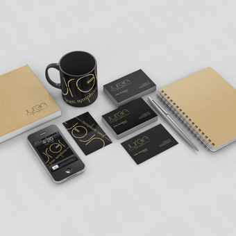 Įmonės firminis stilius / Dizaino pasaulis / Darbų pavyzdys ID 401655