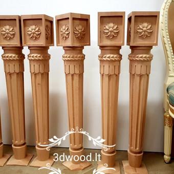 2D, 3D ir 4D frezavimas, 3D skenavimas / 3D Group EU, 3D Wood / Darbų pavyzdys ID 401851