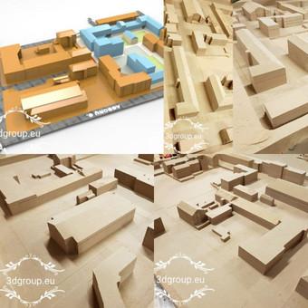 2D, 3D ir 4D frezavimas, 3D skenavimas / 3D Group EU, 3D Wood / Darbų pavyzdys ID 401853