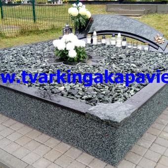 Paminklų, antkapių gamyba, kapų tvarkymo paslaugos / TVARKINGA KAPAVIETĖ / Darbų pavyzdys ID 401871