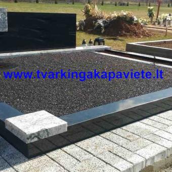 Paminklų, antkapių gamyba, kapų tvarkymo paslaugos / TVARKINGA KAPAVIETĖ / Darbų pavyzdys ID 401873