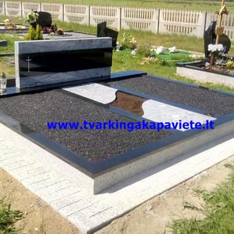 Paminklų, antkapių gamyba, kapų tvarkymo paslaugos / TVARKINGA KAPAVIETĖ / Darbų pavyzdys ID 401877