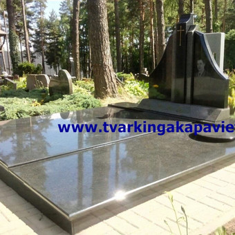 Paminklų, antkapių gamyba, kapų tvarkymo paslaugos / TVARKINGA KAPAVIETĖ / Darbų pavyzdys ID 401887