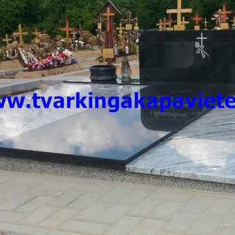 Paminklų, antkapių gamyba, kapų tvarkymo paslaugos / TVARKINGA KAPAVIETĖ / Darbų pavyzdys ID 401891