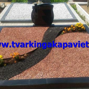 Paminklų, antkapių gamyba, kapų tvarkymo paslaugos / TVARKINGA KAPAVIETĖ / Darbų pavyzdys ID 401893