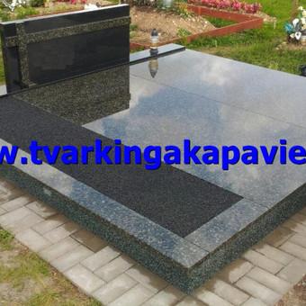 Paminklų, antkapių gamyba, kapų tvarkymo paslaugos / TVARKINGA KAPAVIETĖ / Darbų pavyzdys ID 401895