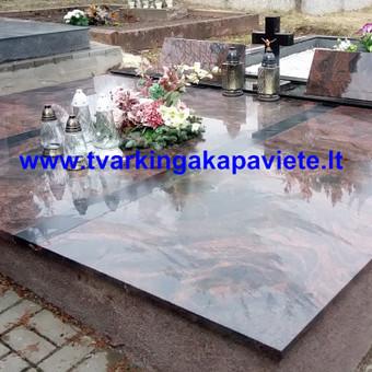 Paminklų, antkapių gamyba, kapų tvarkymo paslaugos / TVARKINGA KAPAVIETĖ / Darbų pavyzdys ID 401899