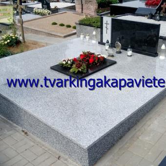 Paminklų, antkapių gamyba, kapų tvarkymo paslaugos / TVARKINGA KAPAVIETĖ / Darbų pavyzdys ID 401901