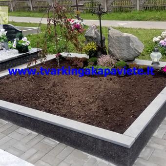Paminklų, antkapių gamyba, kapų tvarkymo paslaugos / TVARKINGA KAPAVIETĖ / Darbų pavyzdys ID 401907