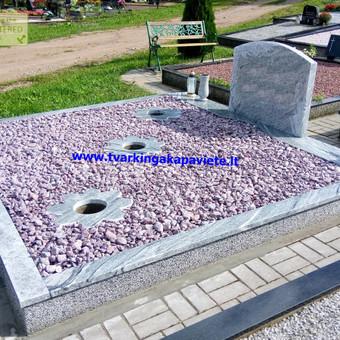 Paminklų, antkapių gamyba, kapų tvarkymo paslaugos / TVARKINGA KAPAVIETĖ / Darbų pavyzdys ID 401909