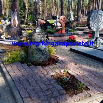 Paminklų, antkapių gamyba, kapų tvarkymo paslaugos / TVARKINGA KAPAVIETĖ / Darbų pavyzdys ID 401911