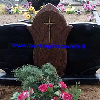 Paminklų, antkapių gamyba, kapų tvarkymo paslaugos / TVARKINGA KAPAVIETĖ / Darbų pavyzdys ID 401913