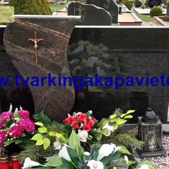 Paminklų, antkapių gamyba, kapų tvarkymo paslaugos / TVARKINGA KAPAVIETĖ / Darbų pavyzdys ID 401917
