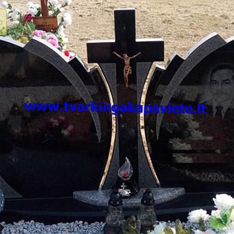 Paminklų, antkapių gamyba, kapų tvarkymo paslaugos / TVARKINGA KAPAVIETĖ / Darbų pavyzdys ID 401925