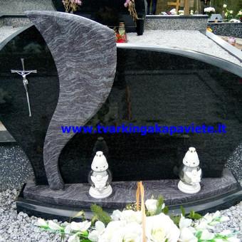 Paminklų, antkapių gamyba, kapų tvarkymo paslaugos / TVARKINGA KAPAVIETĖ / Darbų pavyzdys ID 401929