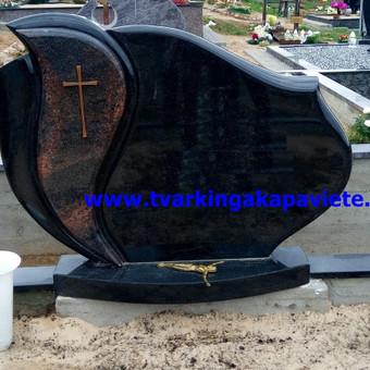 Paminklų, antkapių gamyba, kapų tvarkymo paslaugos / TVARKINGA KAPAVIETĖ / Darbų pavyzdys ID 401931