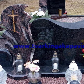 Paminklų, antkapių gamyba, kapų tvarkymo paslaugos / TVARKINGA KAPAVIETĖ / Darbų pavyzdys ID 401935