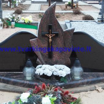 Paminklų, antkapių gamyba, kapų tvarkymo paslaugos / TVARKINGA KAPAVIETĖ / Darbų pavyzdys ID 401937
