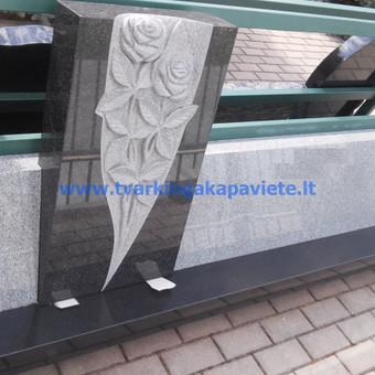 Paminklų, antkapių gamyba, kapų tvarkymo paslaugos / TVARKINGA KAPAVIETĖ / Darbų pavyzdys ID 401943