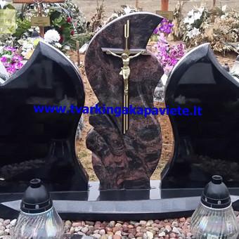 Paminklų, antkapių gamyba, kapų tvarkymo paslaugos / TVARKINGA KAPAVIETĖ / Darbų pavyzdys ID 401945