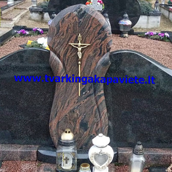 Paminklų, antkapių gamyba, kapų tvarkymo paslaugos / TVARKINGA KAPAVIETĖ / Darbų pavyzdys ID 401947
