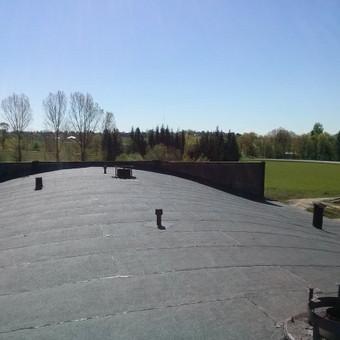 Ploksciu stogu dengimas prilydoma bitumine danga / www.plokstistogai.lt / Darbų pavyzdys ID 403327