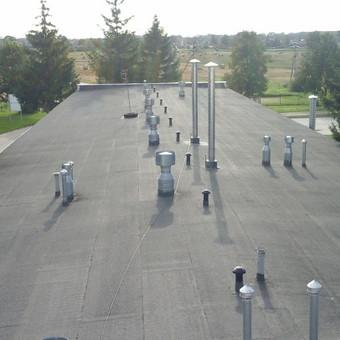 Ploksciu stogu dengimas prilydoma bitumine danga / www.plokstistogai.lt / Darbų pavyzdys ID 403331