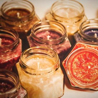 DeiKo Art rankų darbo žvakės tavo ir draugo palangei / Deiko Art / Darbų pavyzdys ID 403413