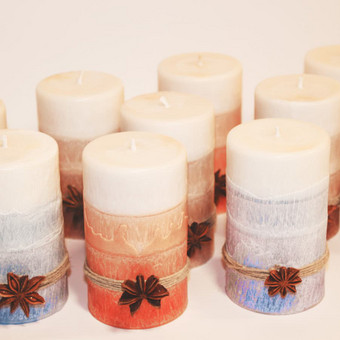 DeiKo Art rankų darbo žvakės tavo ir draugo palangei / Deiko Art / Darbų pavyzdys ID 403415