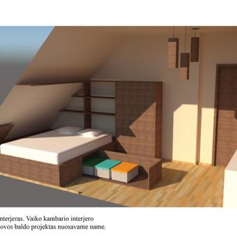 Interjero dizainas. Ofiso patalpų projektavimas. / Bright mark / Darbų pavyzdys ID 403811