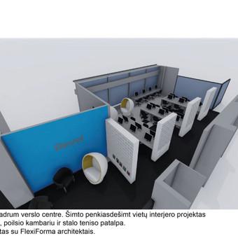 Interjero dizainas. Ofiso patalpų projektavimas. / Bright mark / Darbų pavyzdys ID 403813