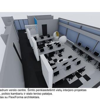 Interjero dizainas. Ofiso patalpų projektavimas. / Bright mark / Darbų pavyzdys ID 403815