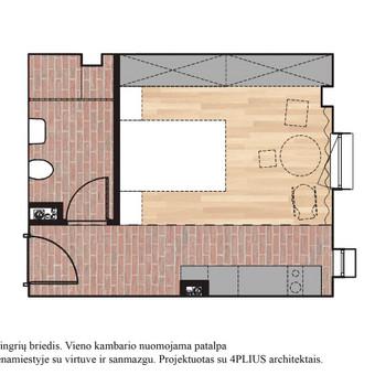 Interjero dizainas. Ofiso patalpų projektavimas. / Bright mark / Darbų pavyzdys ID 403825