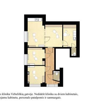 Interjero dizainas. Ofiso patalpų projektavimas. / Bright mark / Darbų pavyzdys ID 403827