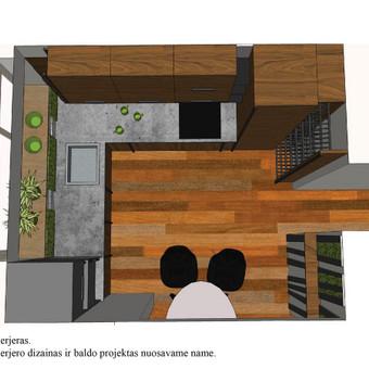 Interjero dizainas. Ofiso patalpų projektavimas. / Bright mark / Darbų pavyzdys ID 403831