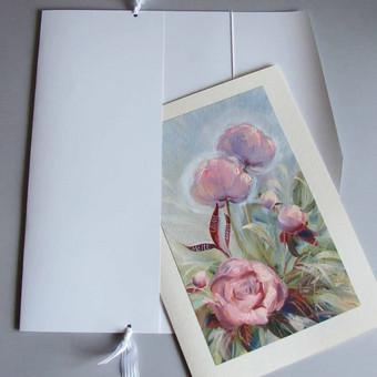Prabangūs kaligrafiniai ranka piešti sveikinimai / Lidija Kukliene / Darbų pavyzdys ID 403883