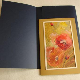 Prabangūs kaligrafiniai ranka piešti sveikinimai / Lidija Kukliene / Darbų pavyzdys ID 403891
