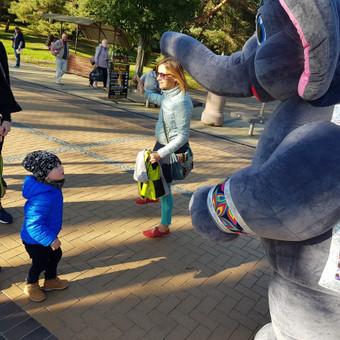 Trijų metrų ūgio dramblys Jūsų šventei! / UAB Aktyvistas / Darbų pavyzdys ID 404231