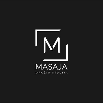 Masaja - grožio studija. Pavadinimo ir logotipo sukūrimas grožio salonui.       Logotipų kūrimas - www.glogo.eu - logo creation.
