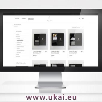 Sukurta el. parduotuvė su minimalistiniu, urbanistiniu dizainu, įdiegti mokėjimai, panaudota Woocommerce platforma.