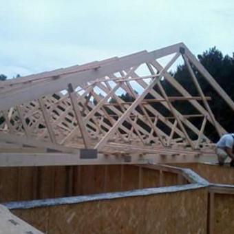 Dengiam stogus.montojam vent. fasadus / Stogai / Darbų pavyzdys ID 405297