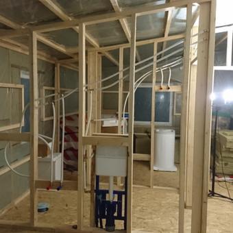 Karkasiniu namu statyba remontas  renovavimas Stogu dengimas / ovidijus / Darbų pavyzdys ID 405535