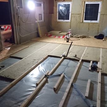 Karkasiniu namu statyba remontas  renovavimas Stogu dengimas / ovidijus / Darbų pavyzdys ID 405543