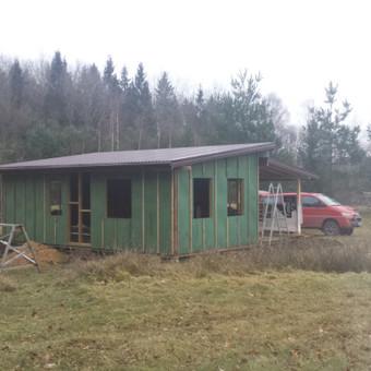 Karkasiniu namu statyba remontas  renovavimas Stogu dengimas / ovidijus / Darbų pavyzdys ID 405545